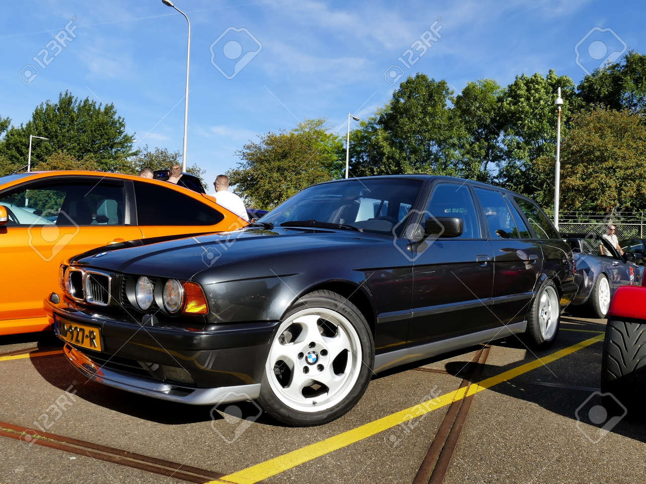 Amsterdam The Netherlands September 10 2016 Black Bmw M5 Stock Photo Picture And Royalty Free Image Image 62870427