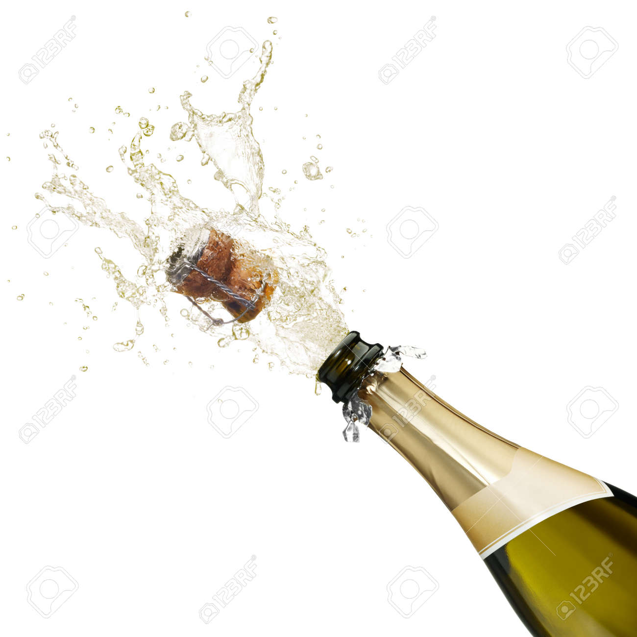 Moet Champagne Bottle Pop