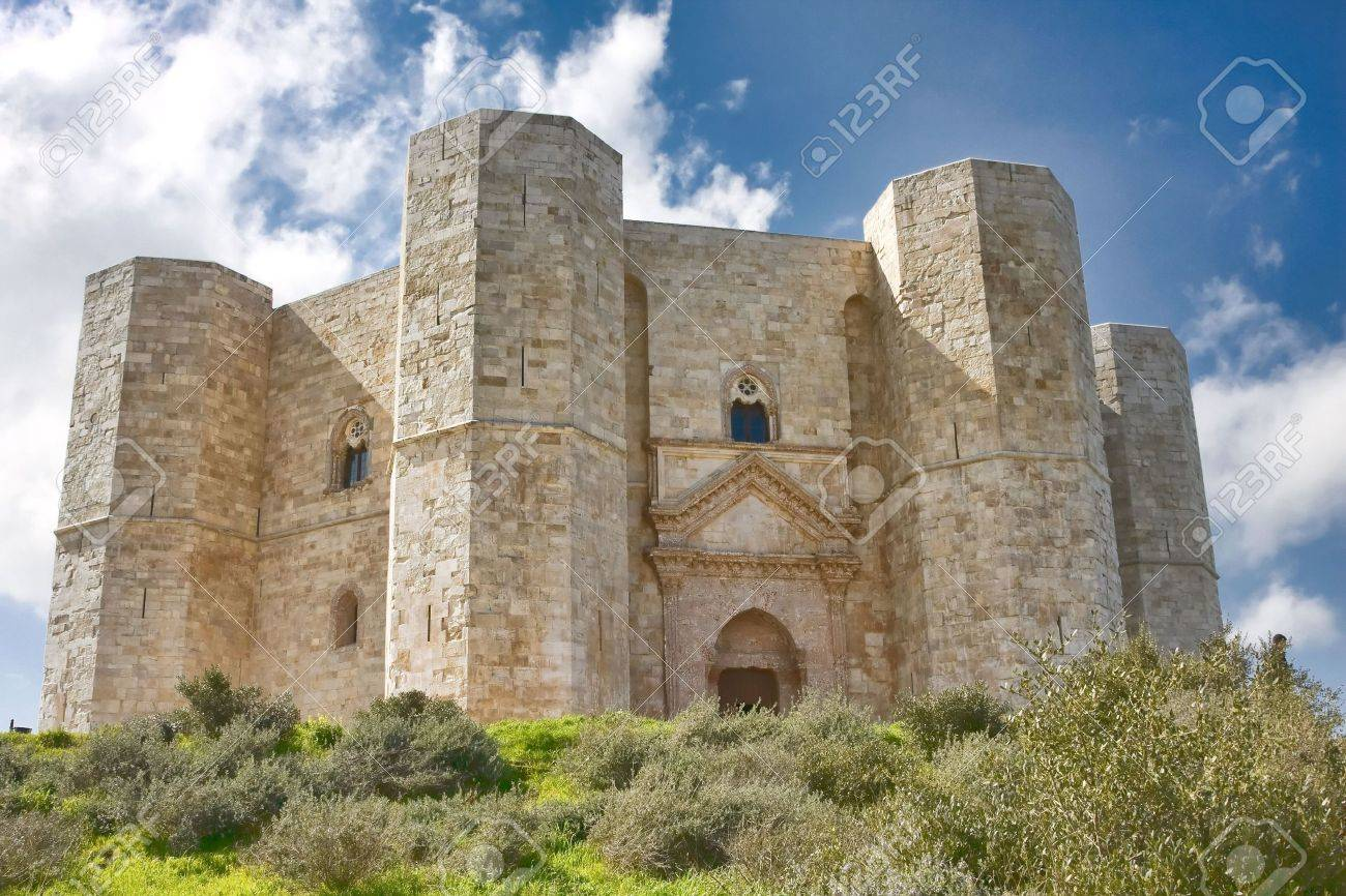 Image result for castel del monte italy