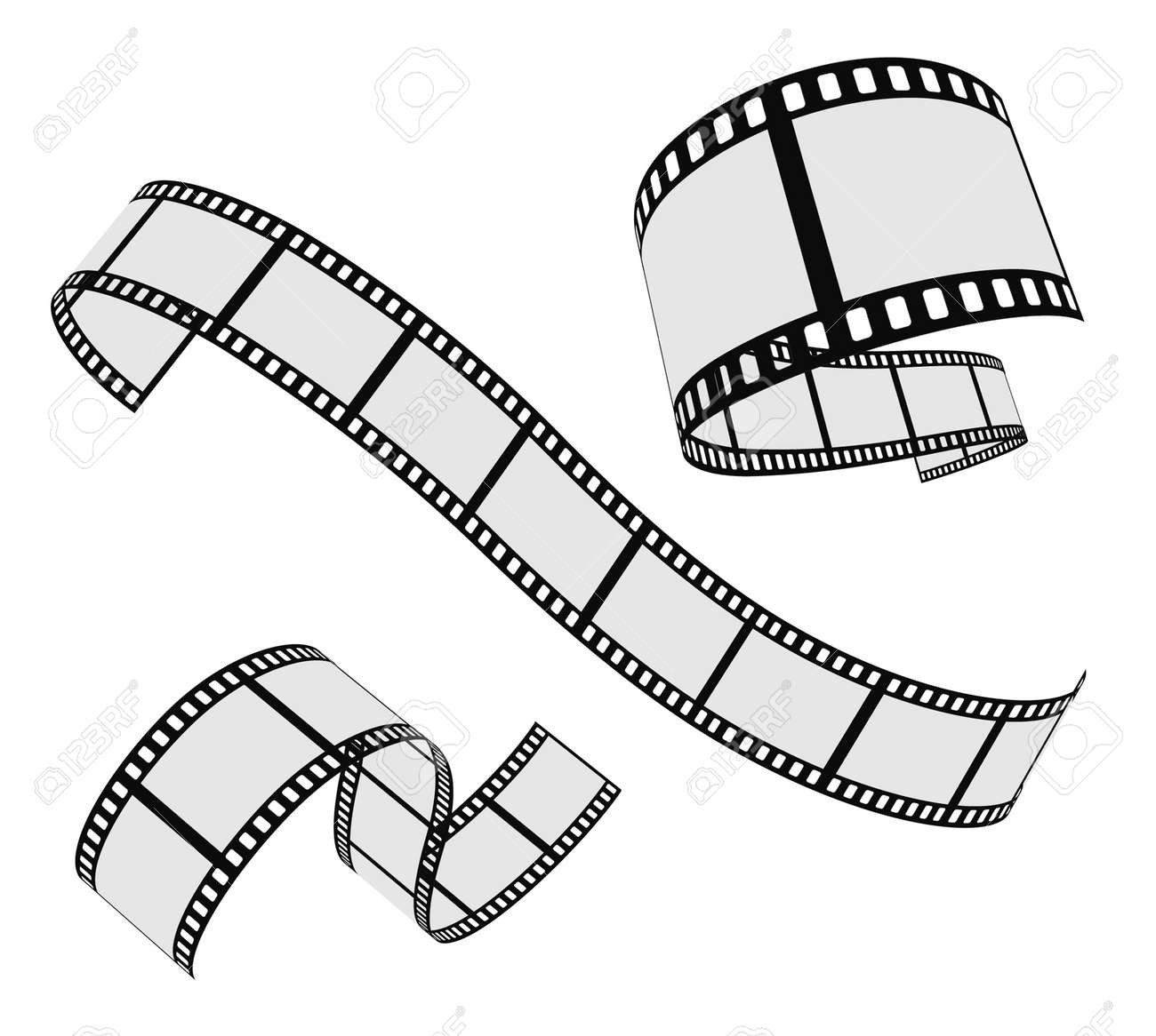 21,238 Filmstrip Stock Vector Illustration And Royalty Free ...