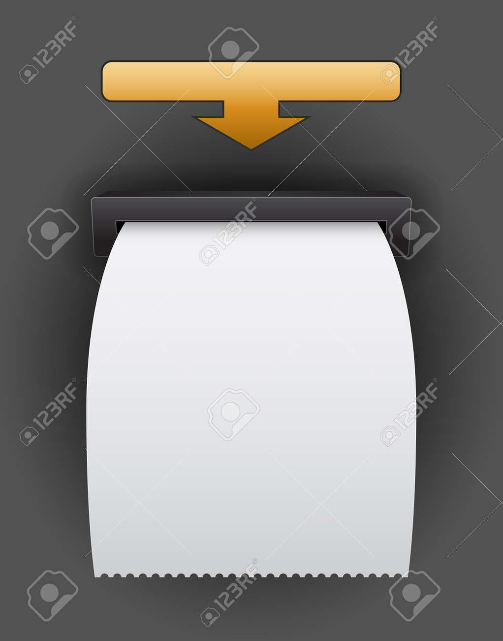blank atm bill template royalty free cliparts vectors and stock