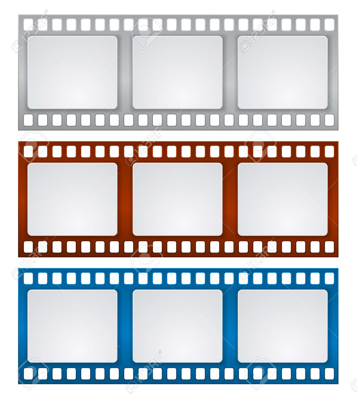 Film Strip Frame Design Background Royalty Free Cliparts, Vectors ...