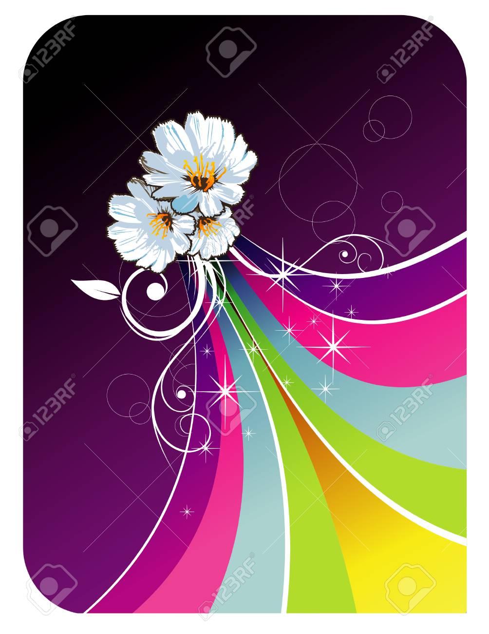 rainbow vector illustration Stock Vector - 5424456