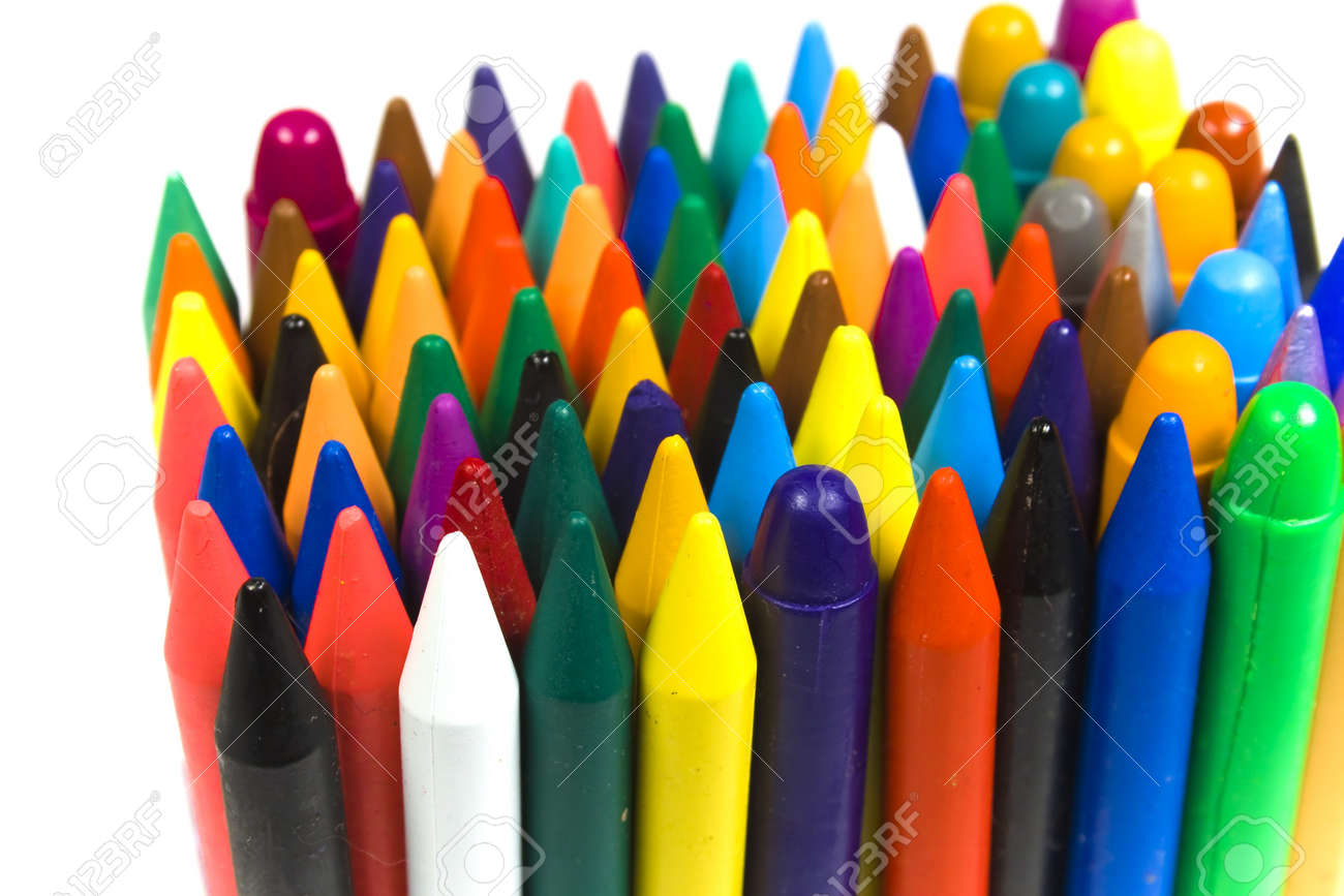 the children u0027s color wax and oil pencils costing vertically stock