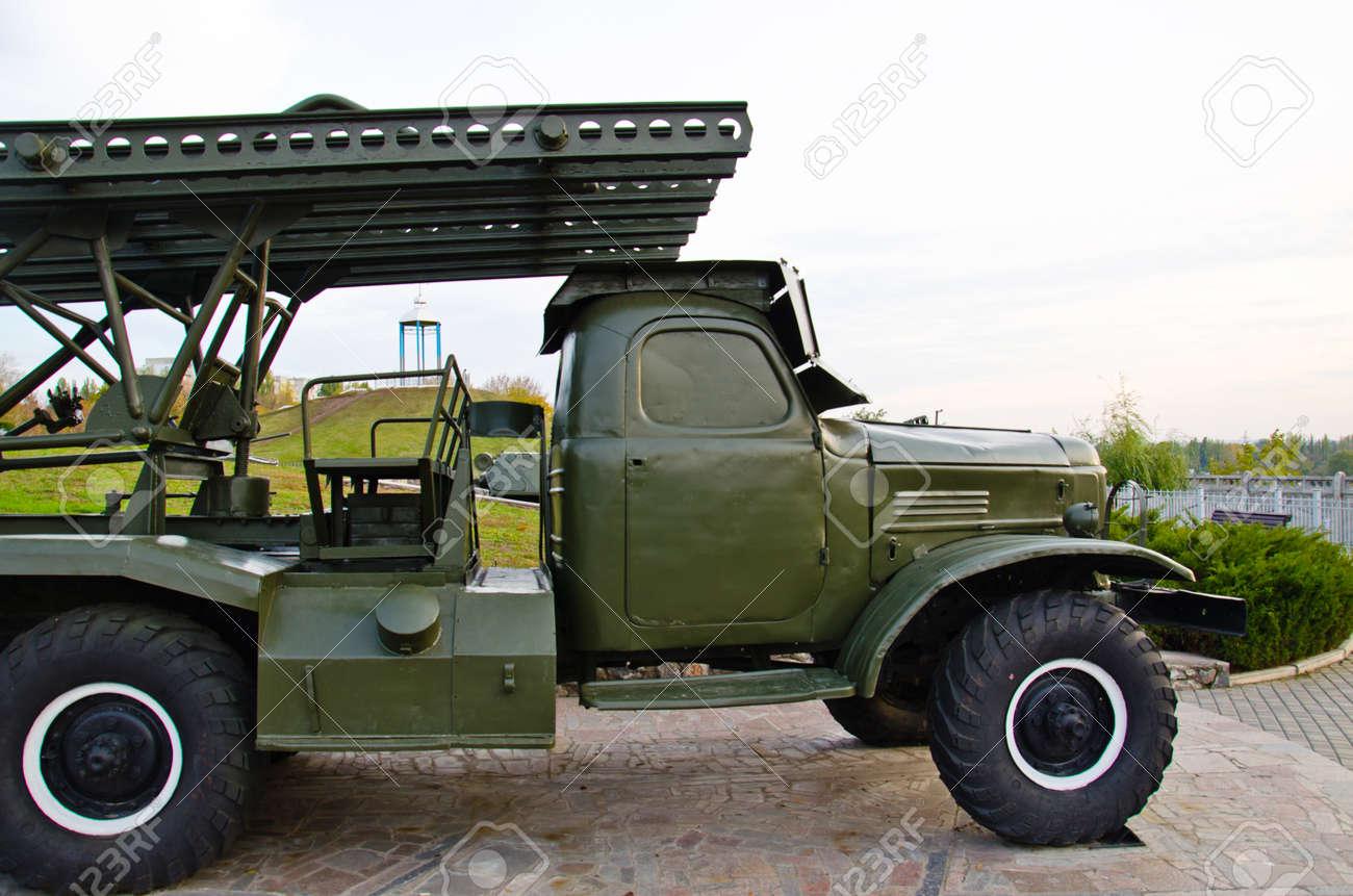Soviet Katyusha rocket launcher from Second world war