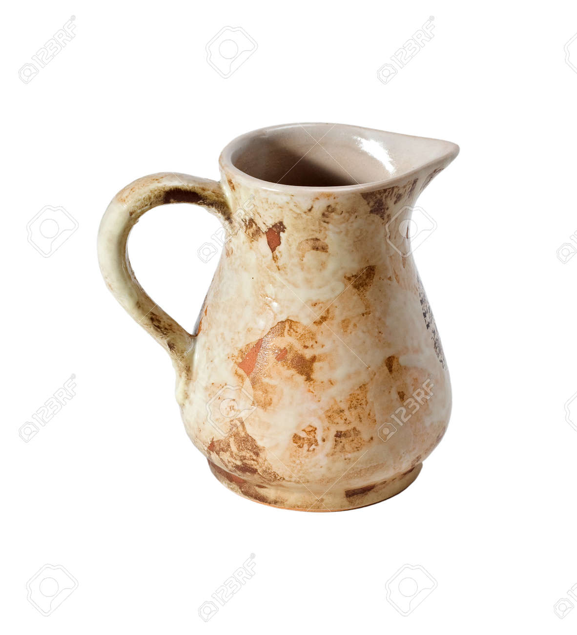 Decorative Jugs And Vases Decorative Clay Or Ceramic Jug Or Jar Or Ewer Or Vase Isolated