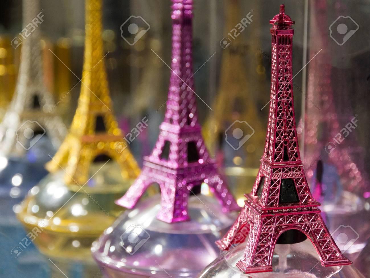 Eiffel tower tour de eiffel souvenirs for selling in a souvenir eiffel tower tour de eiffel souvenirs for selling in a souvenir shop in paris publicscrutiny Images