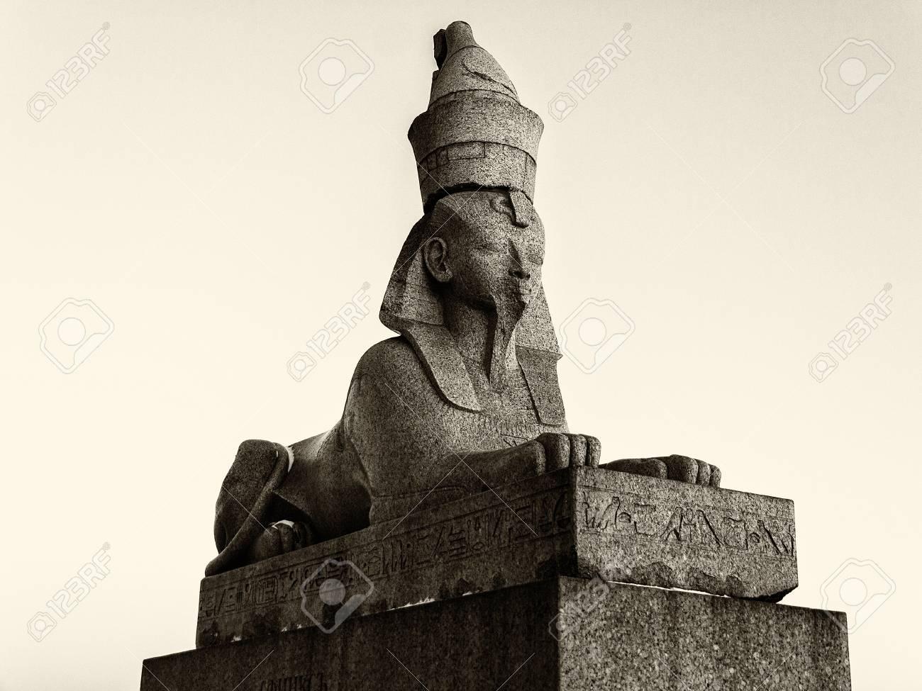Sphinx in St. Petersburg: overview, description, history, location 93