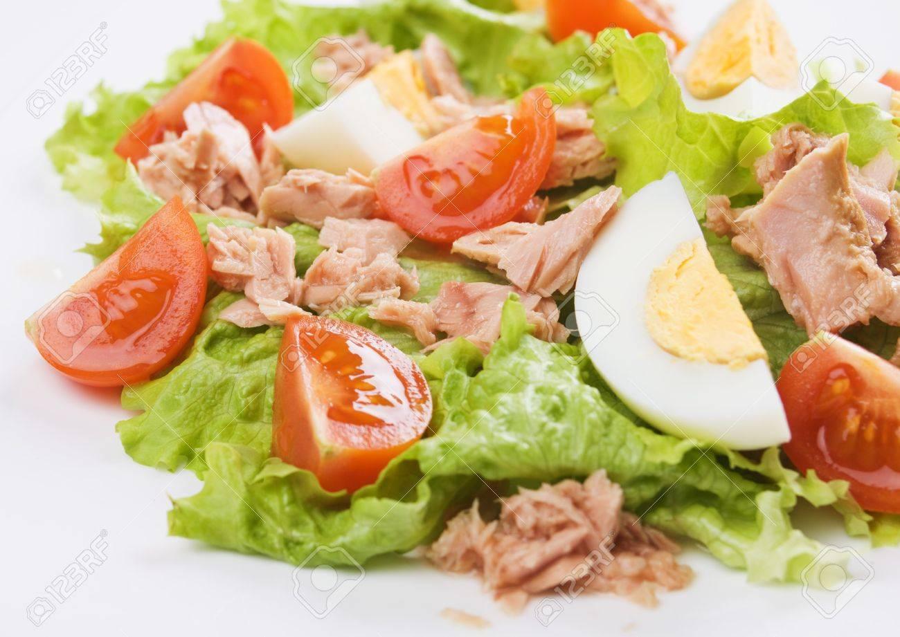 Салат со свежим тунцом рецепт очень вкусный