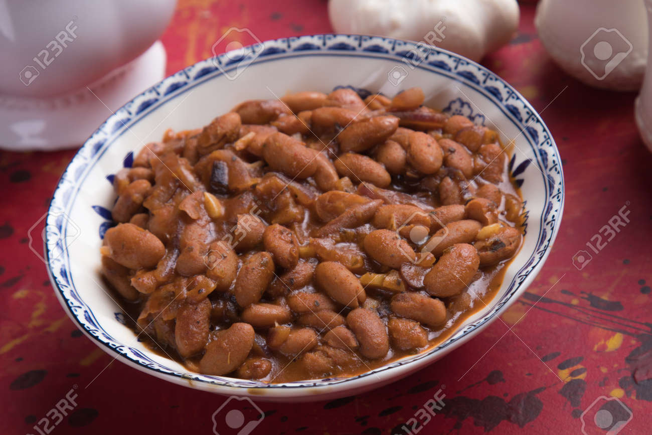 Cooked White Kidney Beans Ready For Eating Stock Photo Picture And Royalty Free Image Image 105161192