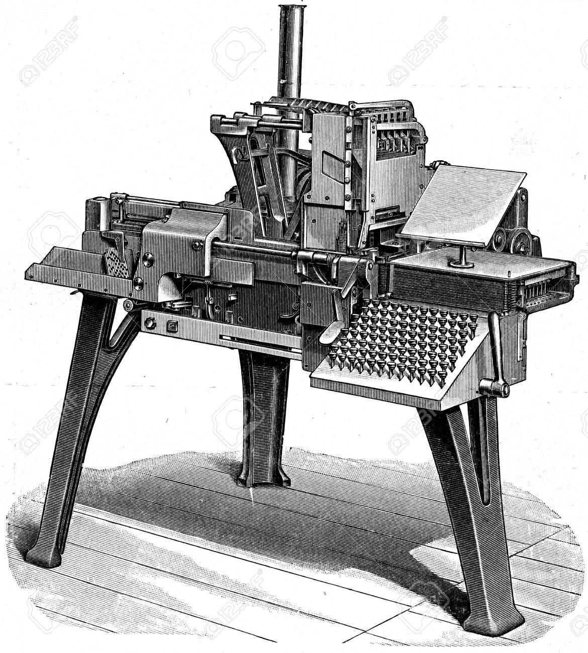 Skudder Typesetter - 1896年百...
