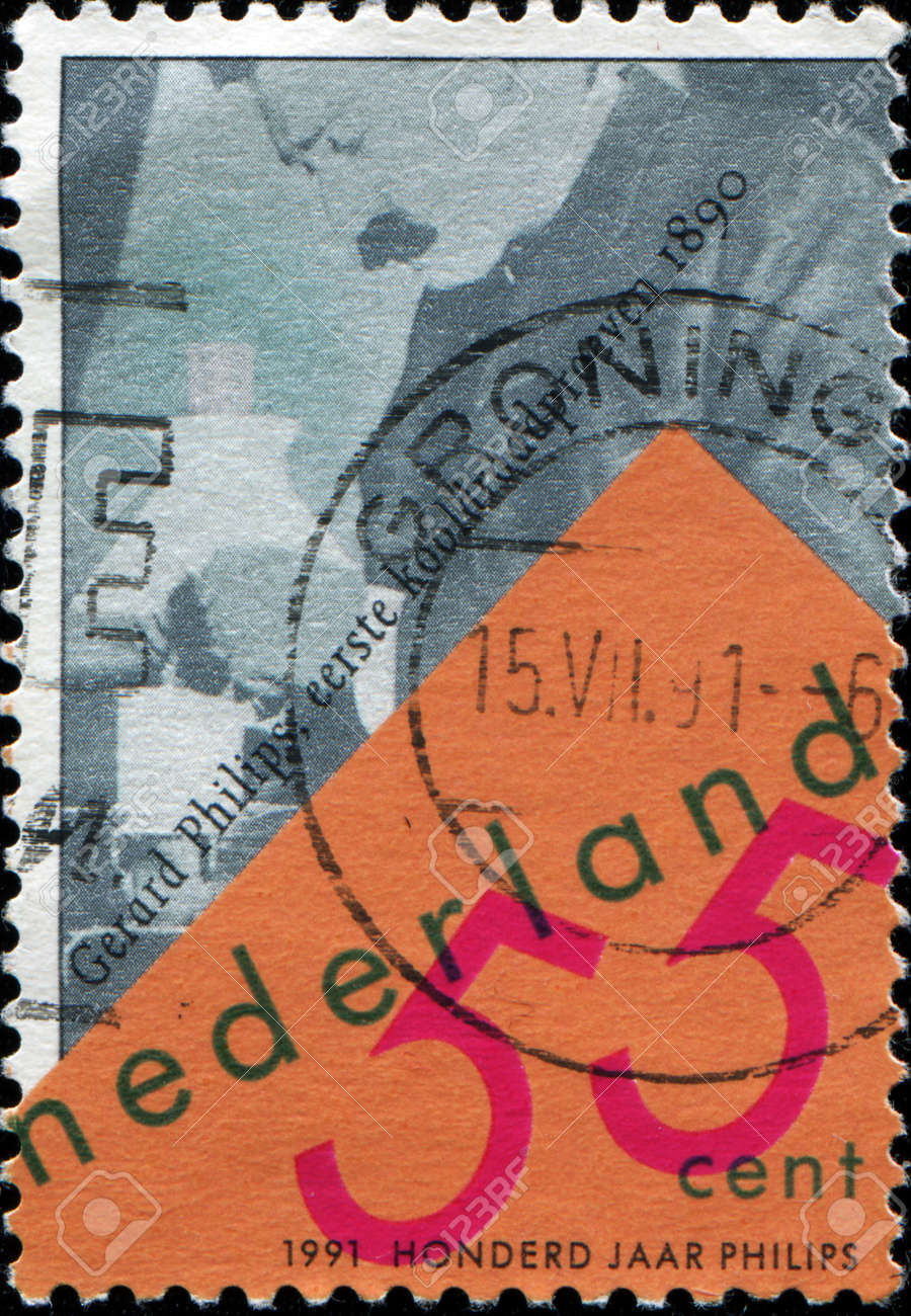 NETHERLANDS - CIRCA 1991 A stamp printed in Netherlands shows