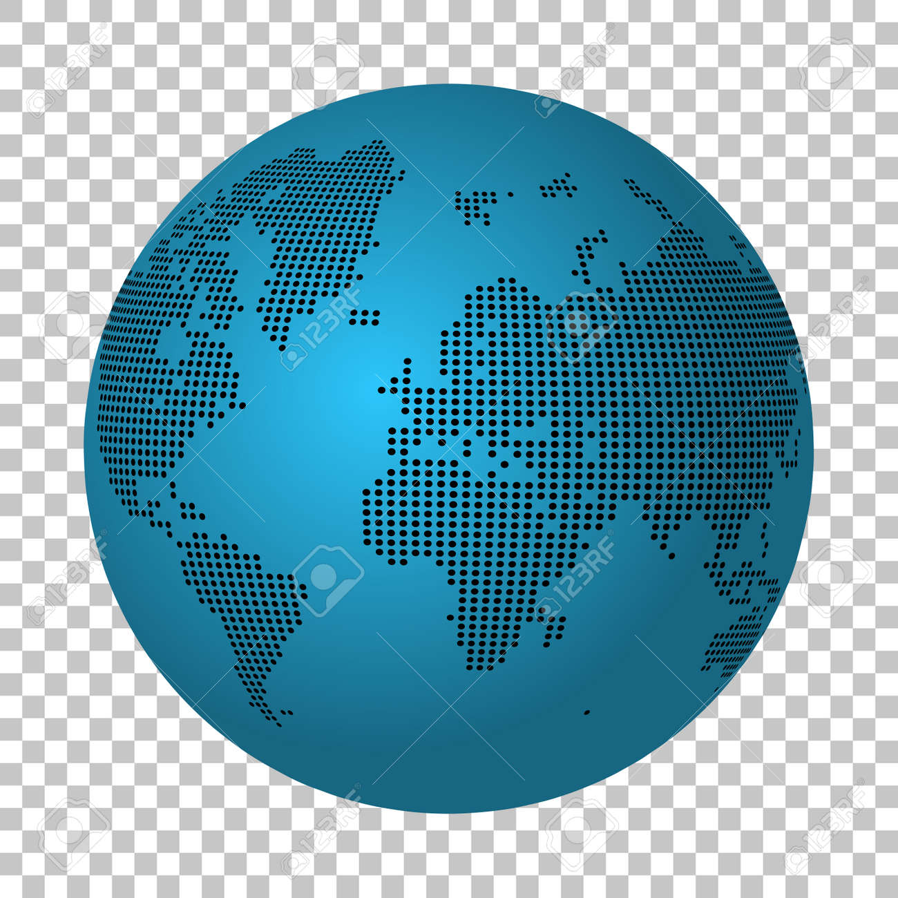 Abstract world map made of dots earth continental dot map royalty abstract world map made of dots earth continental dot map stock vector 59895614 gumiabroncs Images
