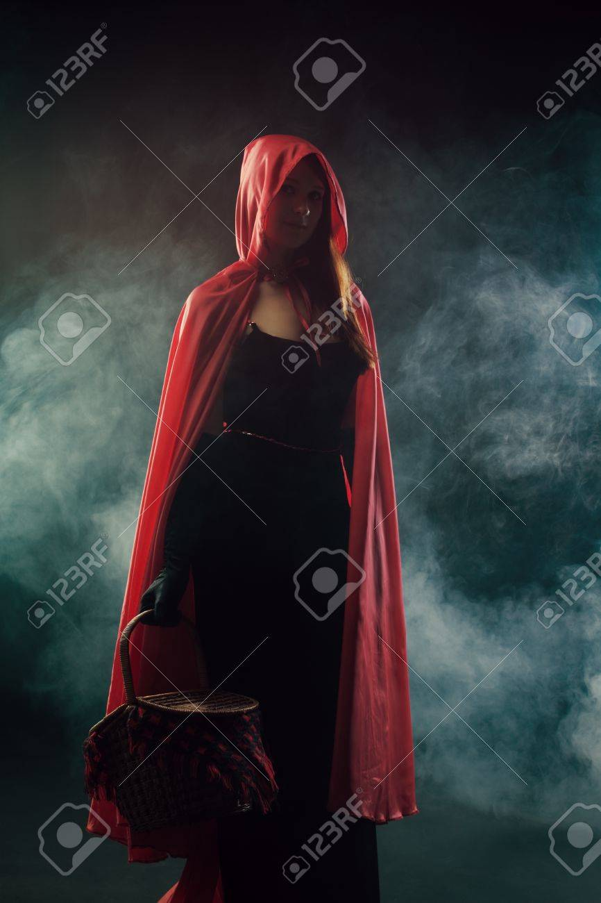Red Riding Hood from Grimms' Fairy Tales Stock Photo - 20785830