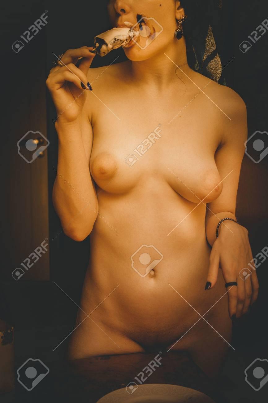 Ice cream babe - Naked photo