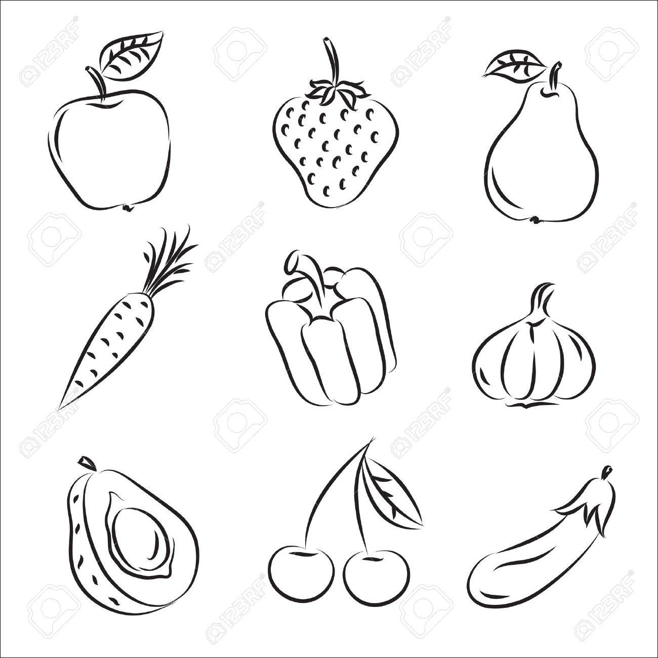 Fruits and Vegetables - 8152589