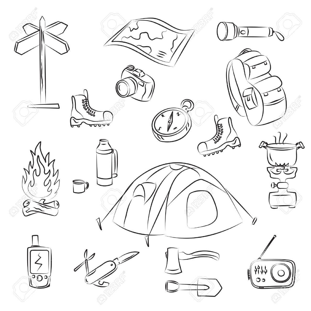 Camping Stock Vector - 9081423