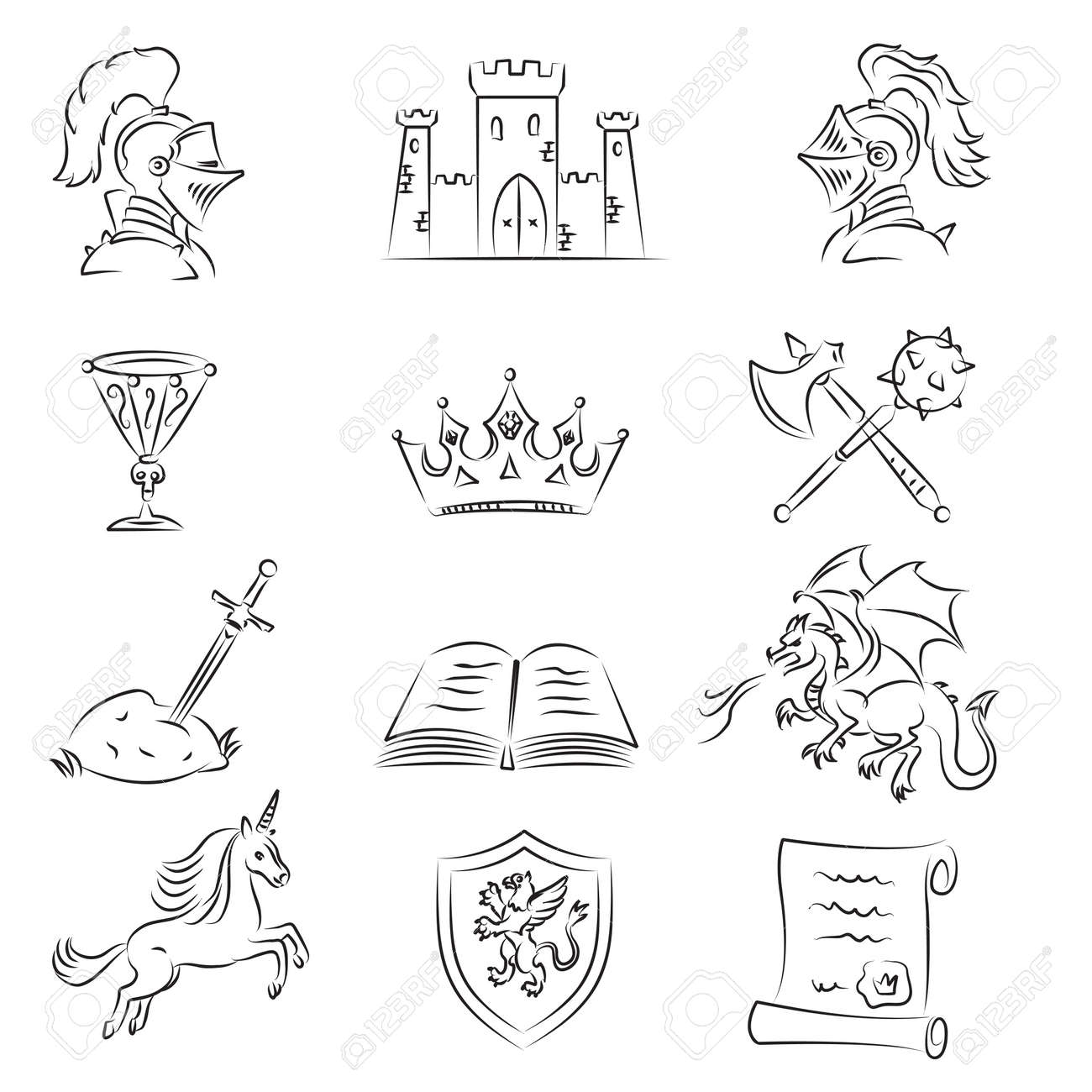 954 middle age black stock vector illustration and royalty free