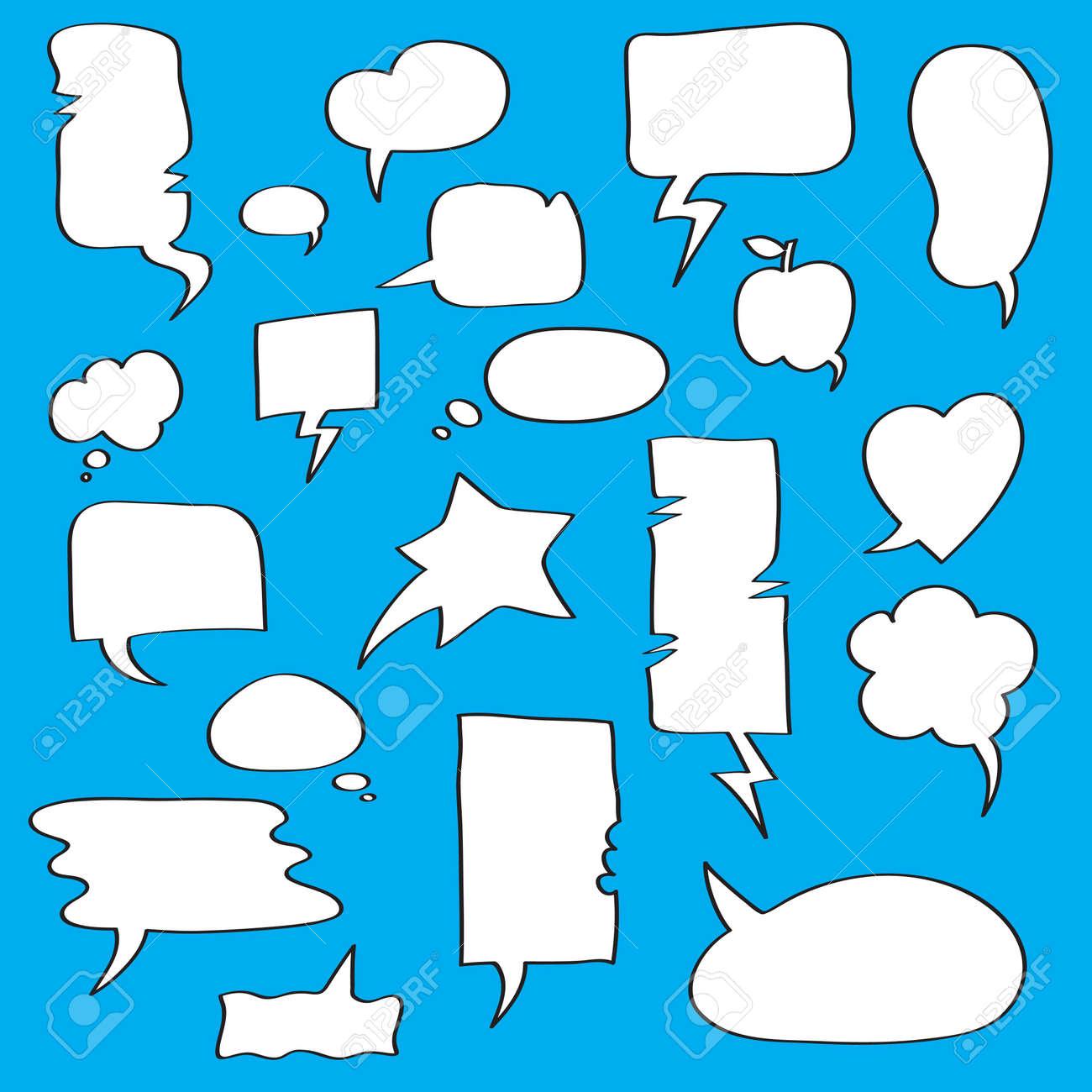 Speech bubbles Collection Stock Vector - 10828763