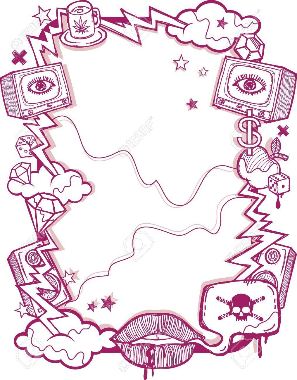 Grunge Poster Stock Vector - 11152753