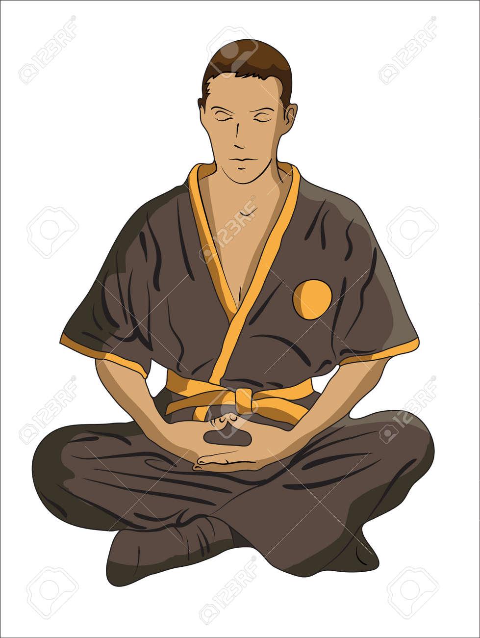 martial Arts master Stock Vector - 19823254