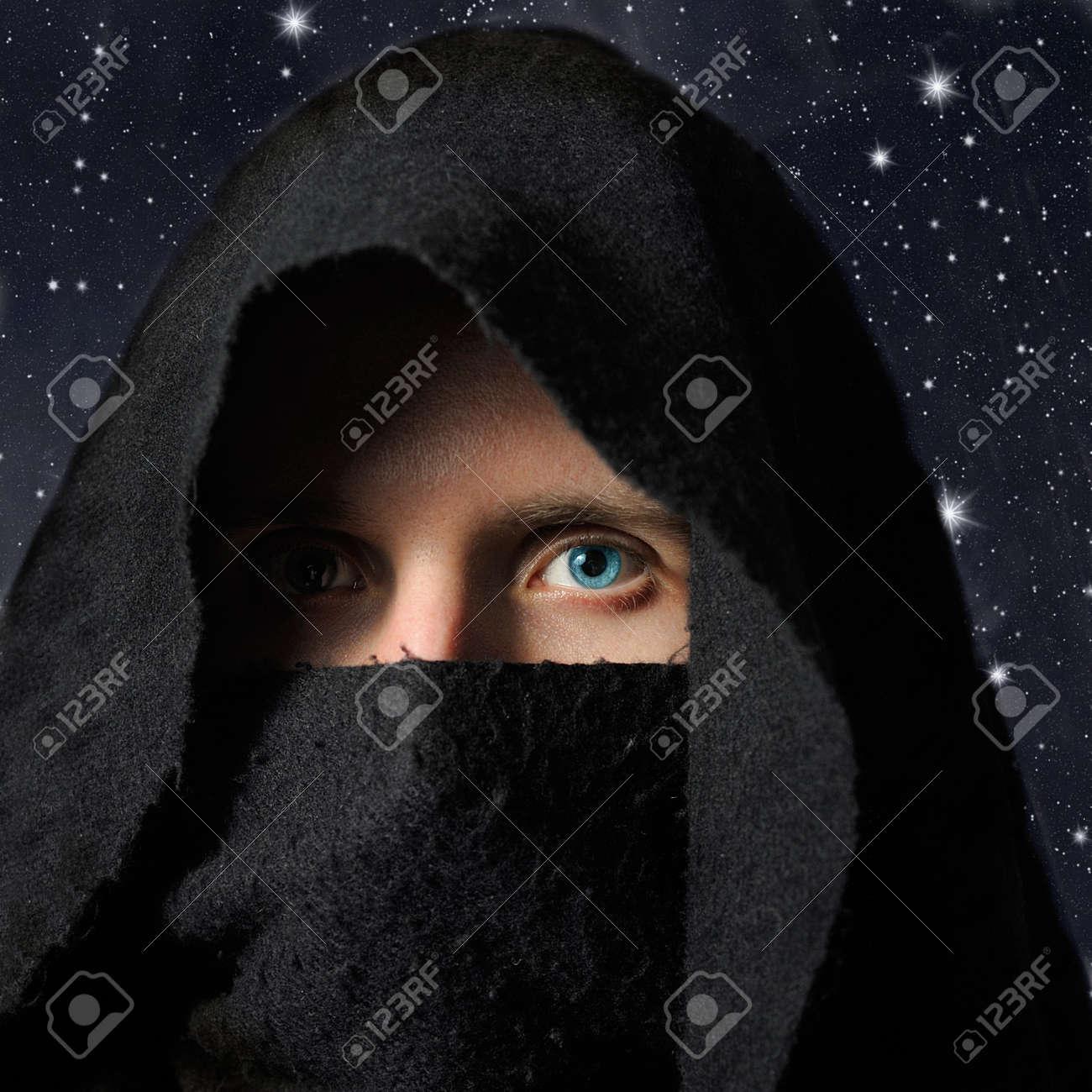 Assassin in darkness Stock Photo - 7389652