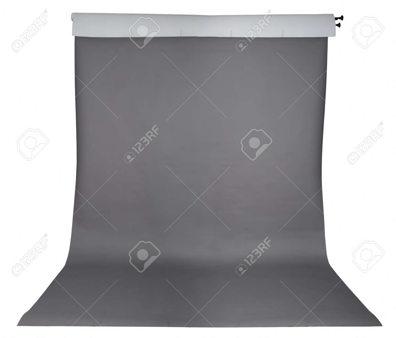 Studio background in roll isolated Stock Photo - 10284392