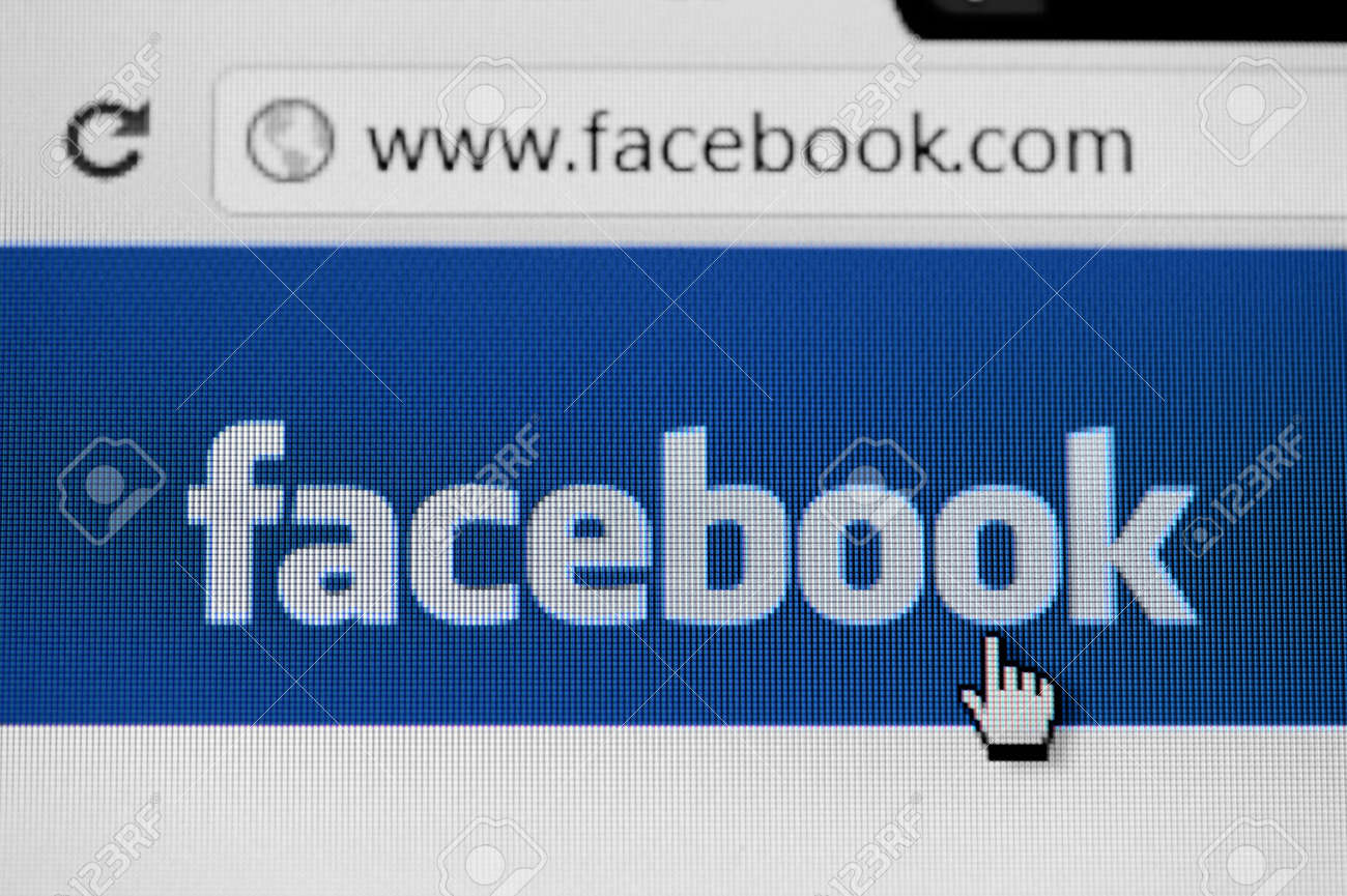 RUSSIA, SAINT-PETERSBURG - JANUARY 28: Facebook homepage, one of the popular social media networking website on January 28, 2012 in Saint-Petersburg. Stock Photo - 12143437