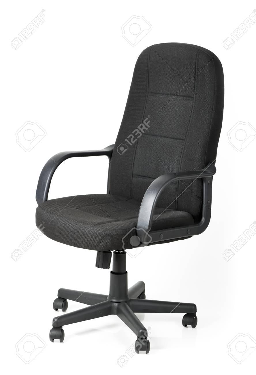 Bureau De Sur Blanc Confortable Chaise Fond Isolé jUVSzLqMGp