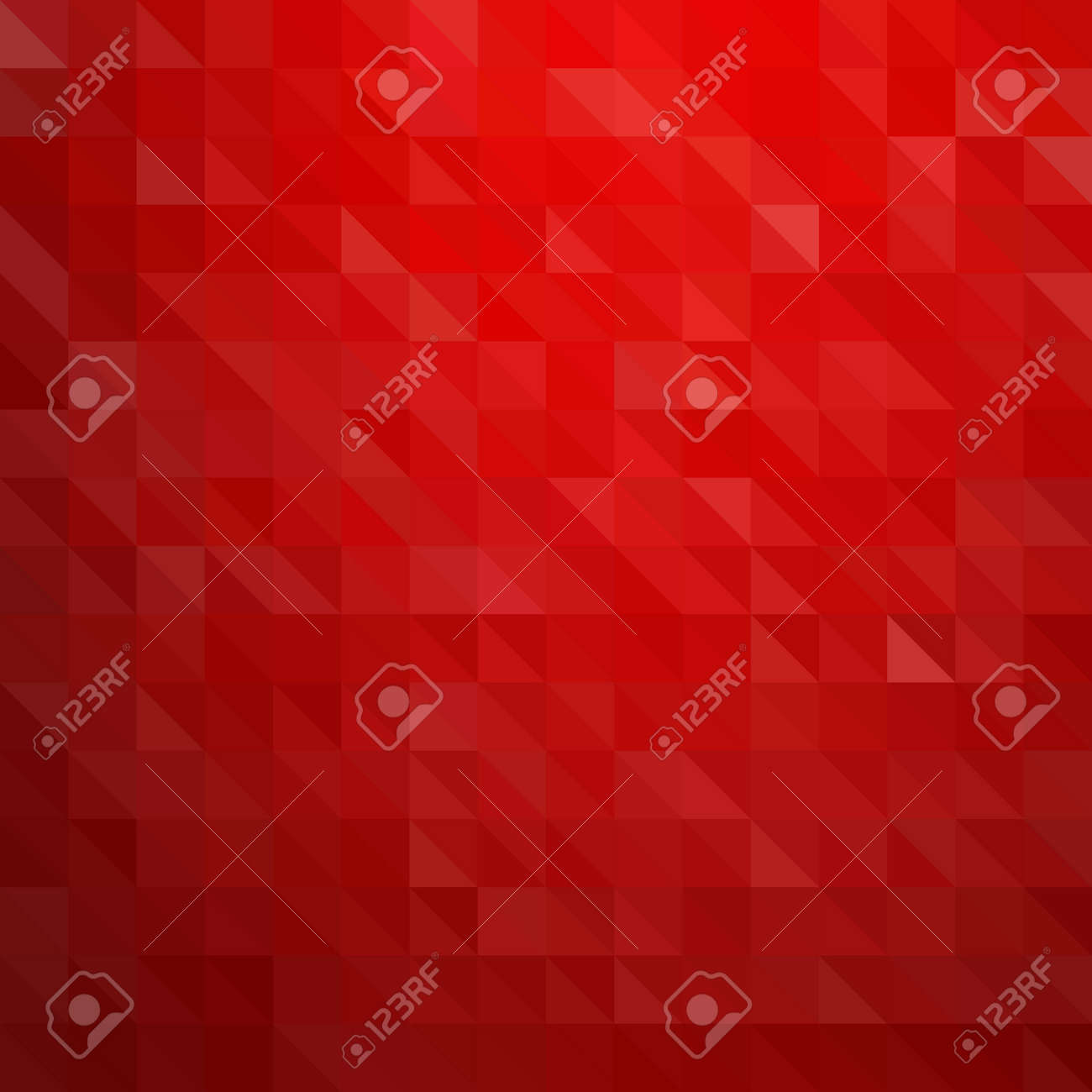 Abstract colorful background. Red triangles pattern Stock Vector - 47827158