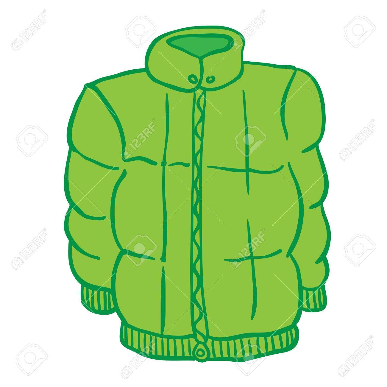 ba61039000b2 Winter Jacket Cartoon Royalty Free Cliparts