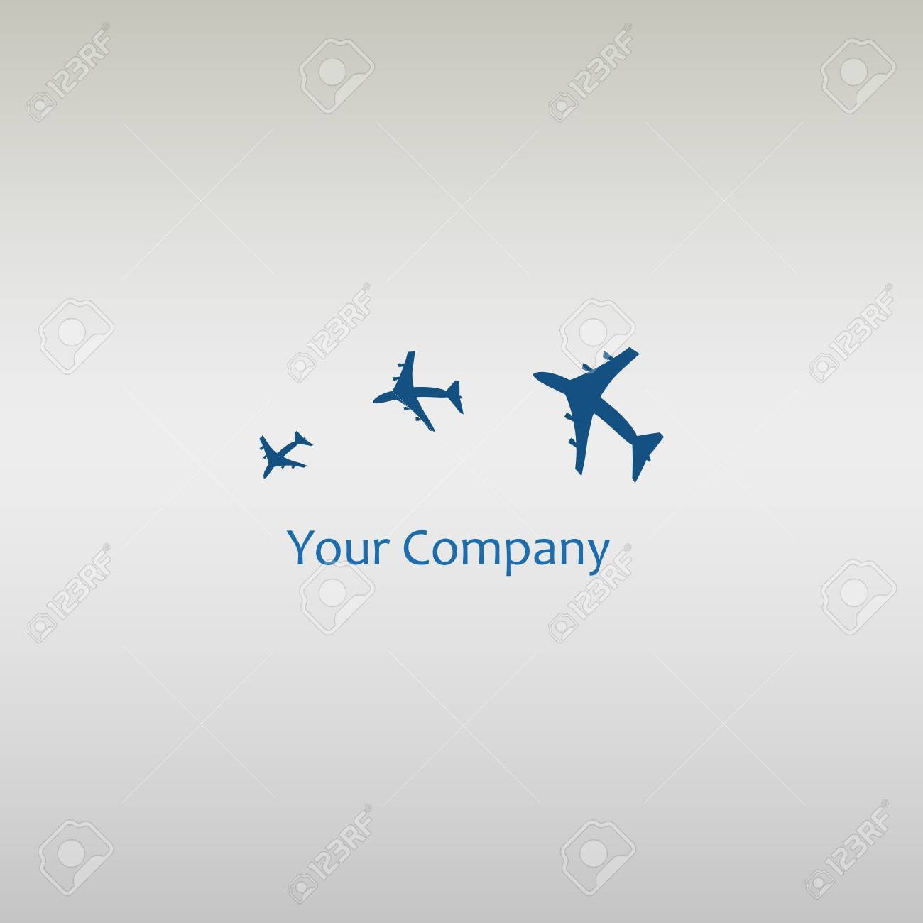 Plane Logo Design Creative Vector Icon With Plane Royalty Free Cliparts Vectors And Stock Illustration Image 44427969