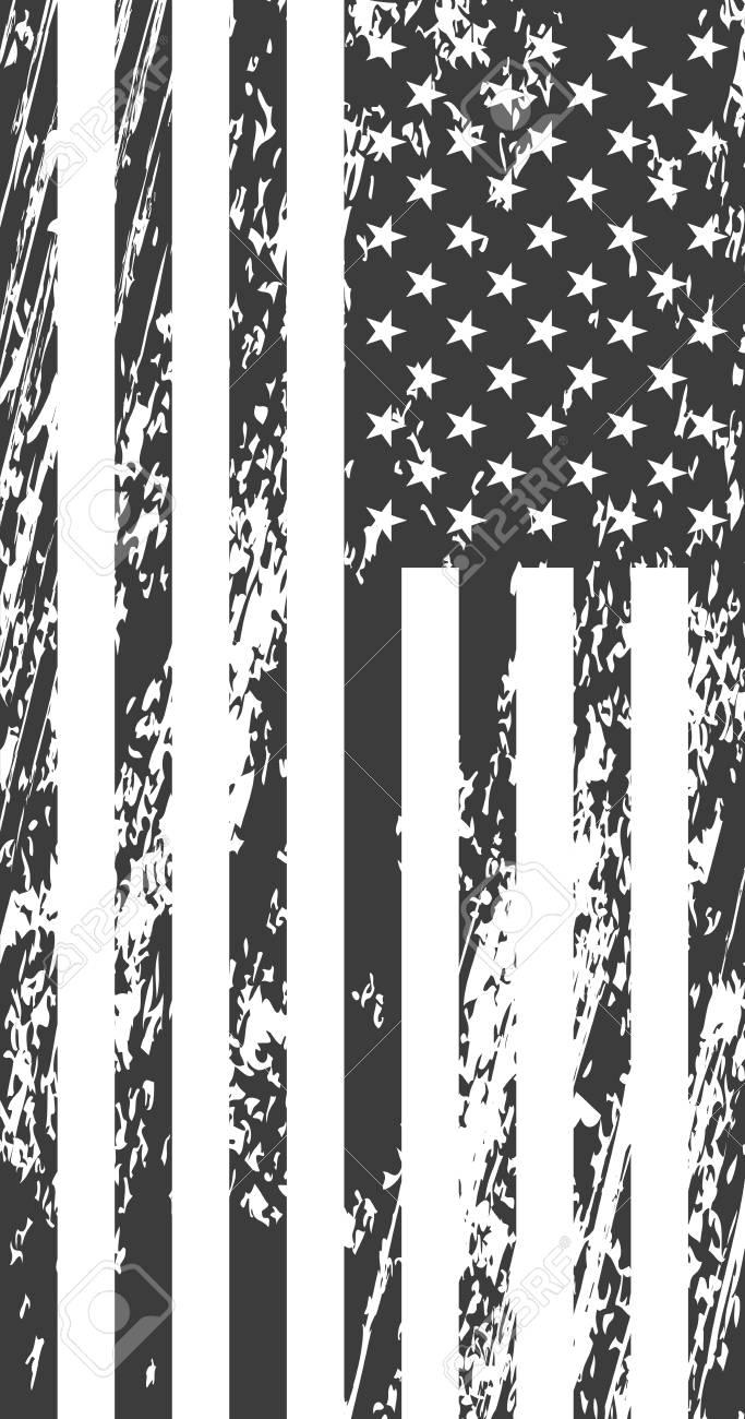 Grunge american flag. Vintage background for web design - 86918420