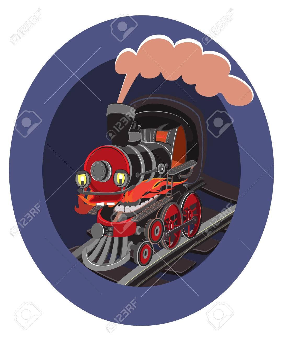 Viajan JugueteLocomotora ColorJuguetes Trenes Vectores De La Dibujos VagonesLos Y Niños Para Animados Conjunto OiXTPZuk