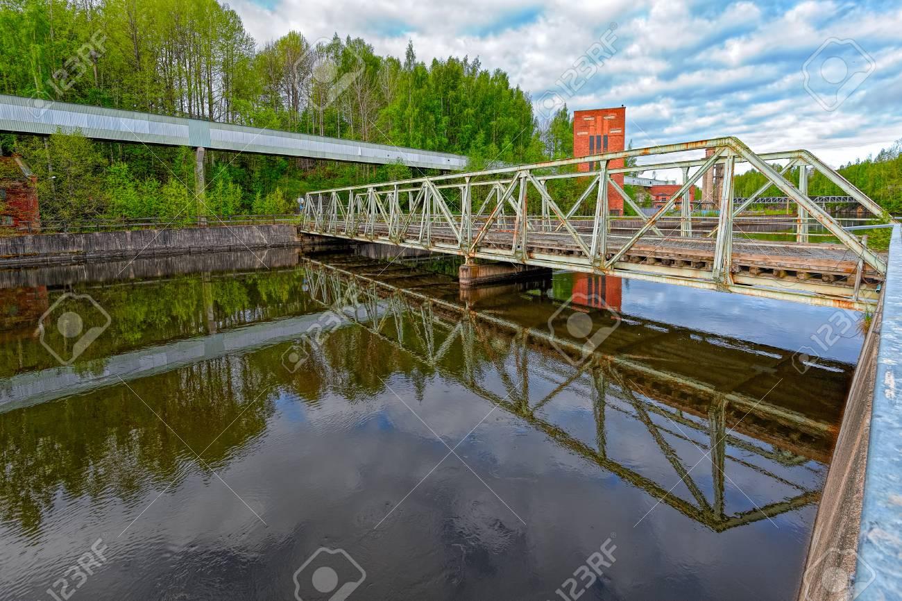Nokia River Industrial Area  Remaining Nokia industial buildings