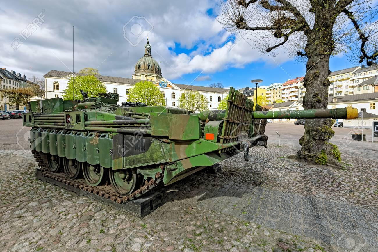 スウェーデン戦後の主力戦車 Str...