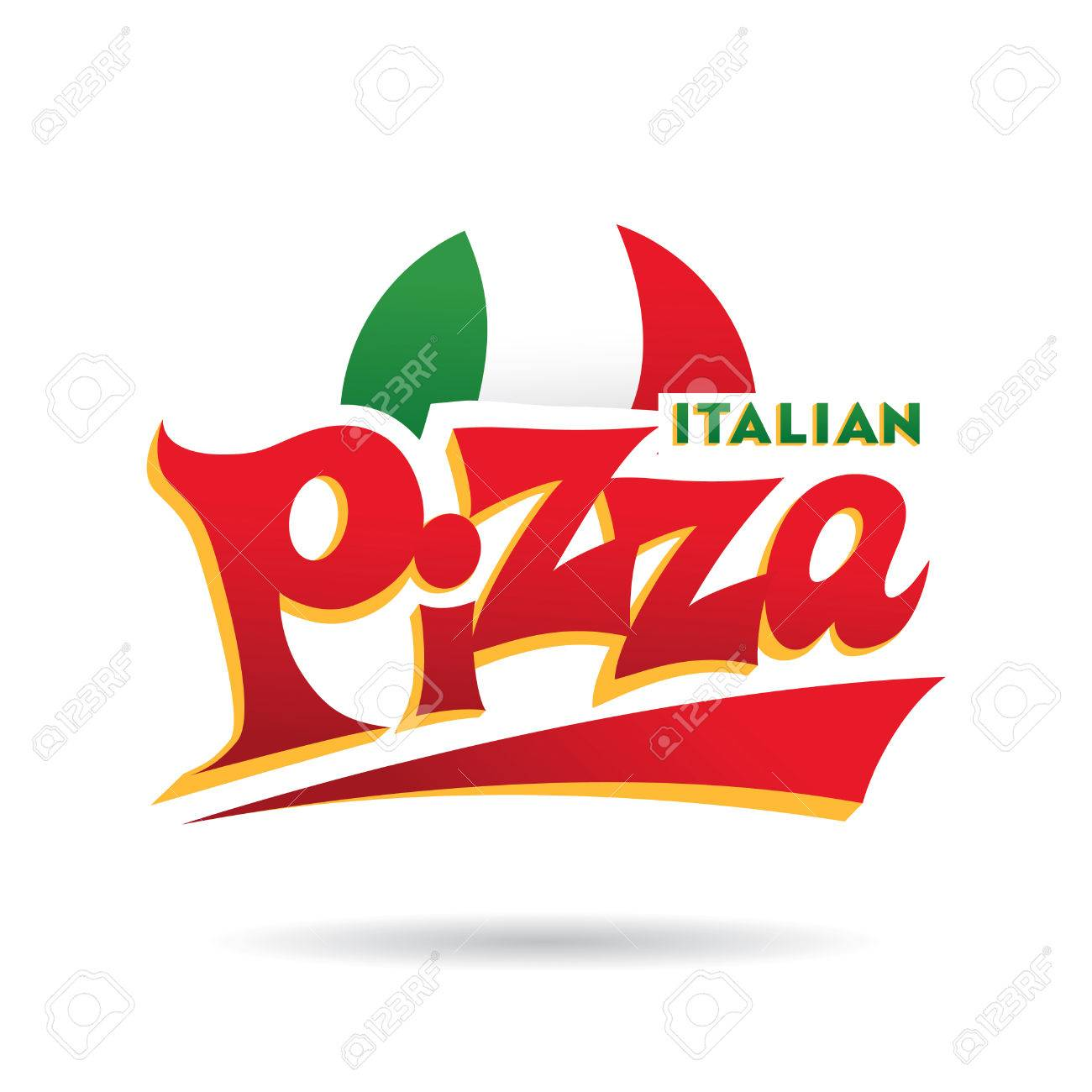 italian pizza logo rh 123rf com pizza logo maker pizza logo quiz