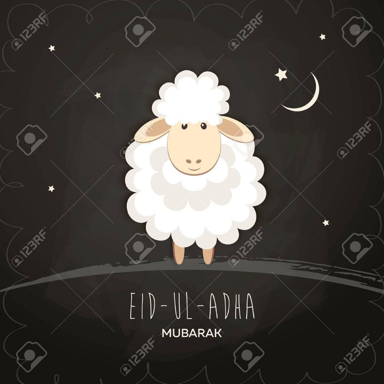 Greeting Card For Muslim Community Festival Of Sacrifice Eid Ul Adha