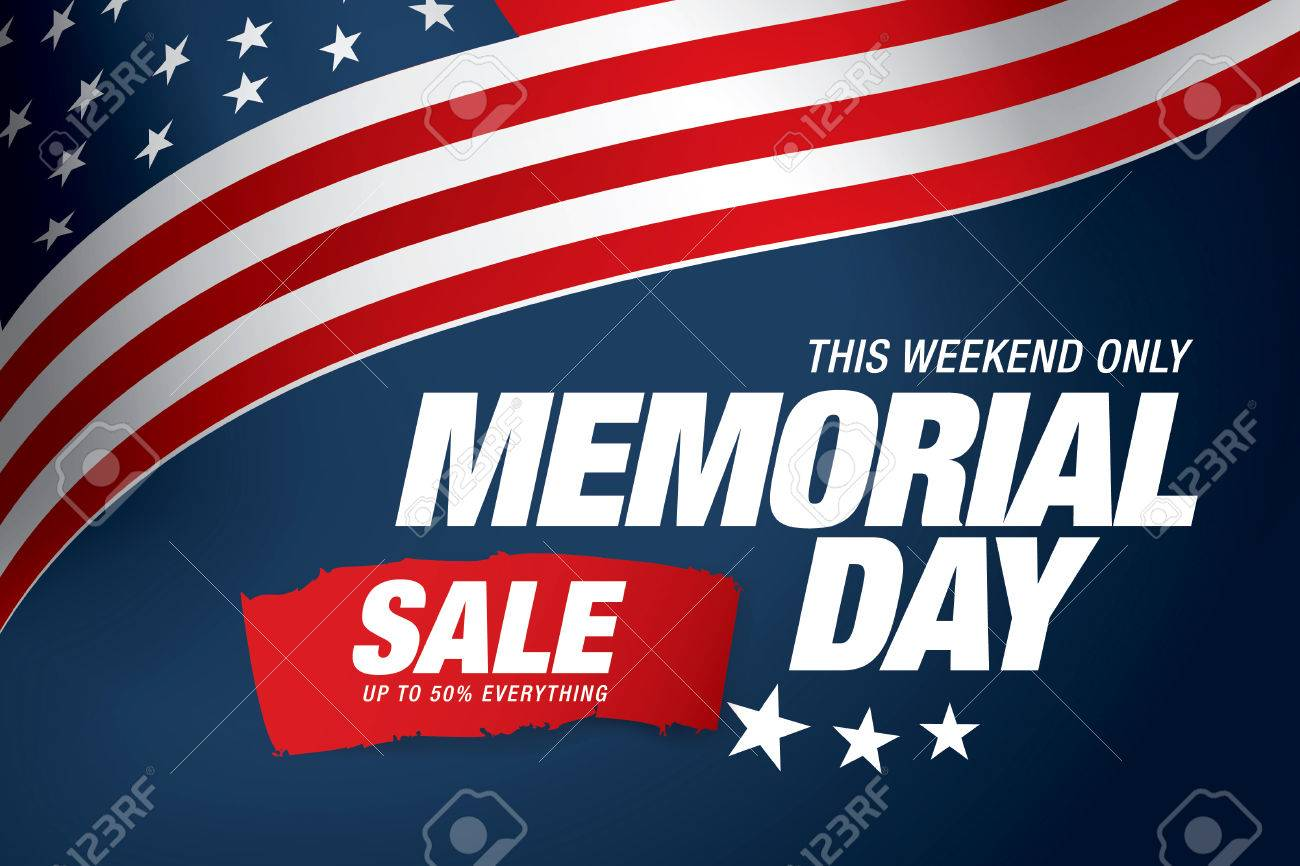 Memmorial Banners Flat Sale Banners