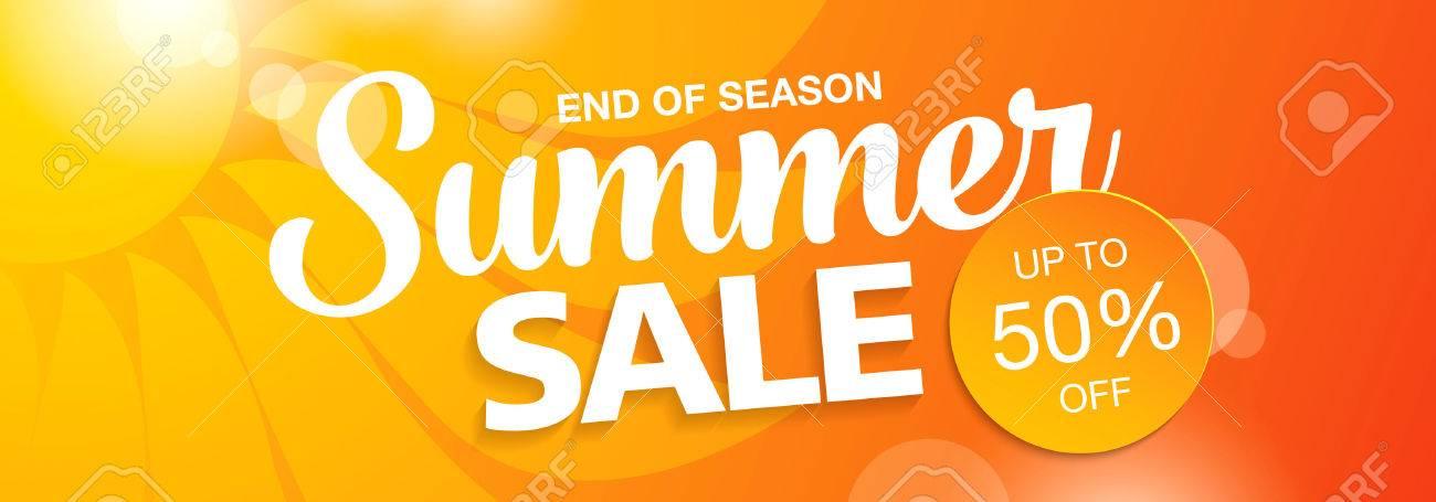 summer sale banner - 56324555