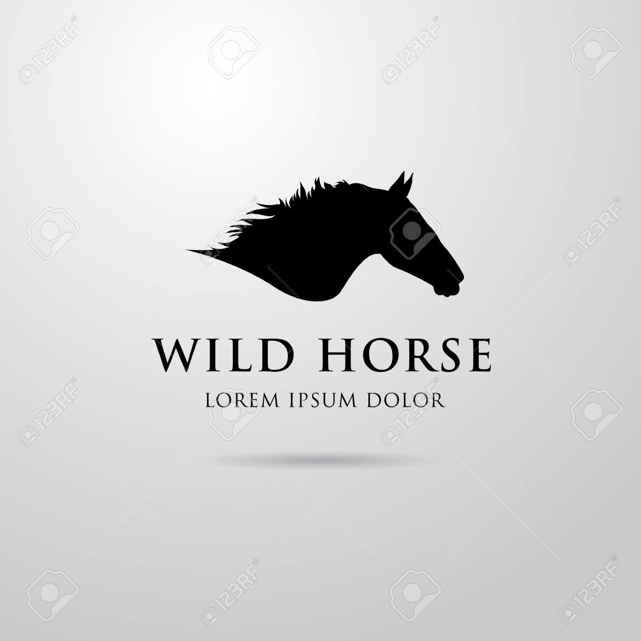 Horse Logo Design Royalty Free Cliparts Vectors And Stock Illustration Image 56422986
