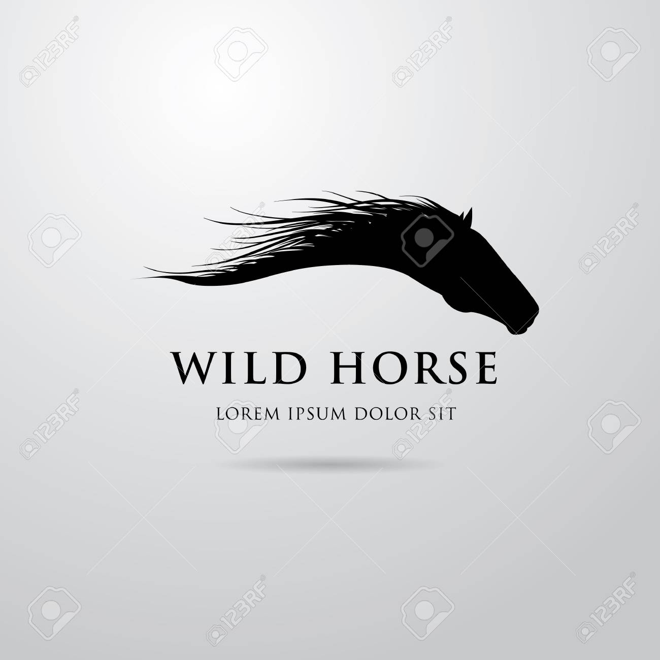 Horse Logo Design Royalty Free Cliparts Vectors And Stock Illustration Image 56422990