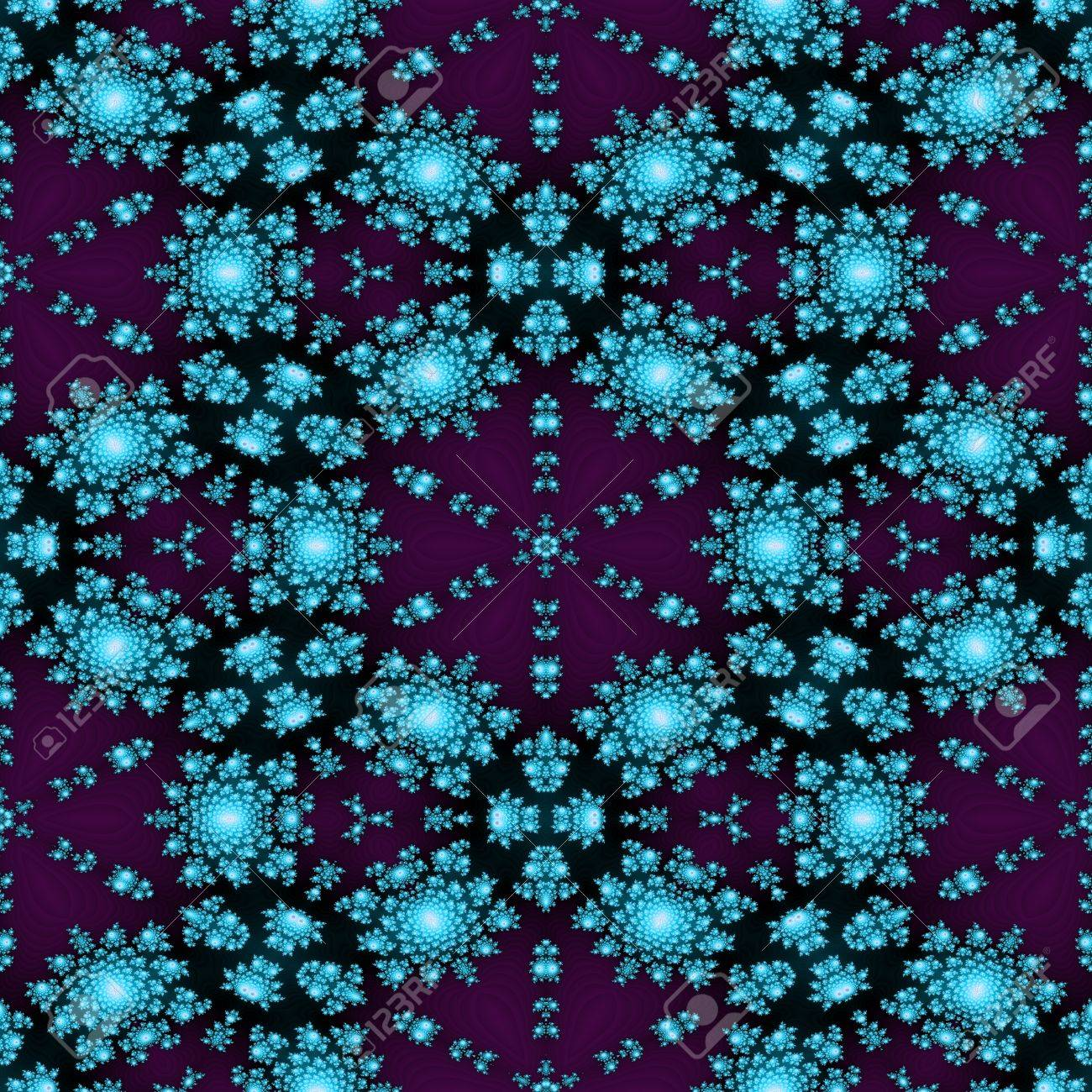 Texture With 3D Rendering Abstract Fractal Pattern Stock ...