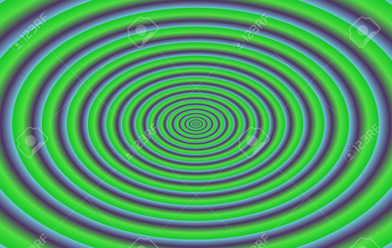 Resume Vert Violet Ellipses Concentriques Fond Dans Des Dimensions