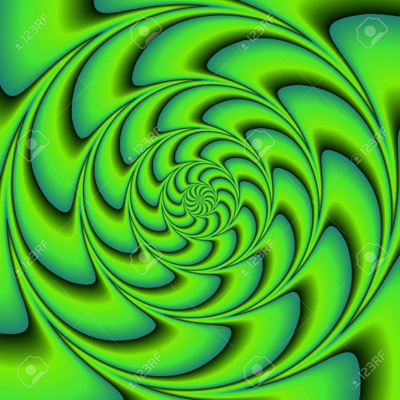 Standard Design El   Gruntonen Komponiert Mit Spiralbewegung Illusionseffekt Verwendbar