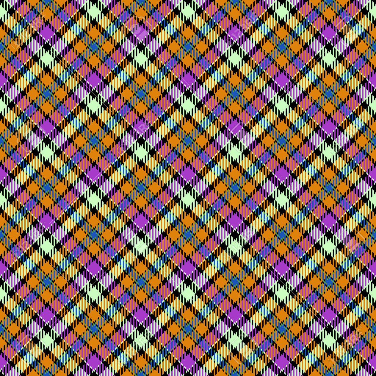 Bedspread designs texture - Striped Bedspread Abstract Diagonally Checkered Tartan Pattern Digitally Rendered Background With Textile Texture Usable