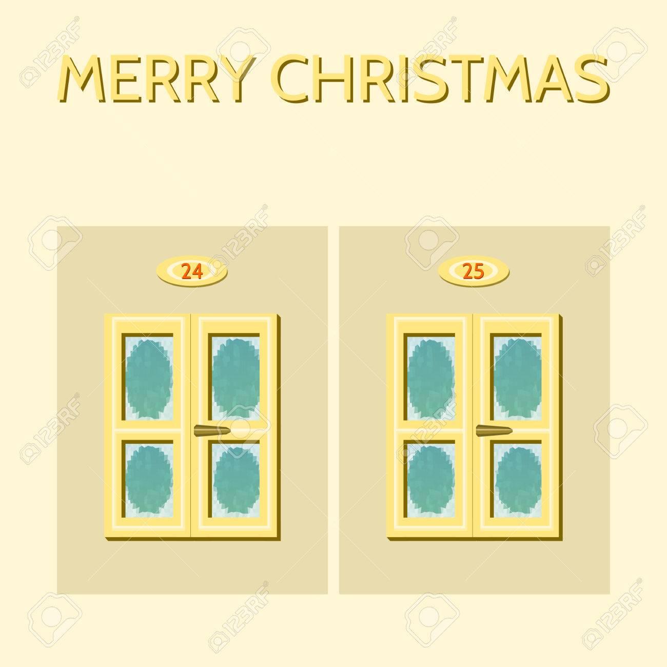 Ist Weihnachten Am 24 Oder 25.Stock Photo