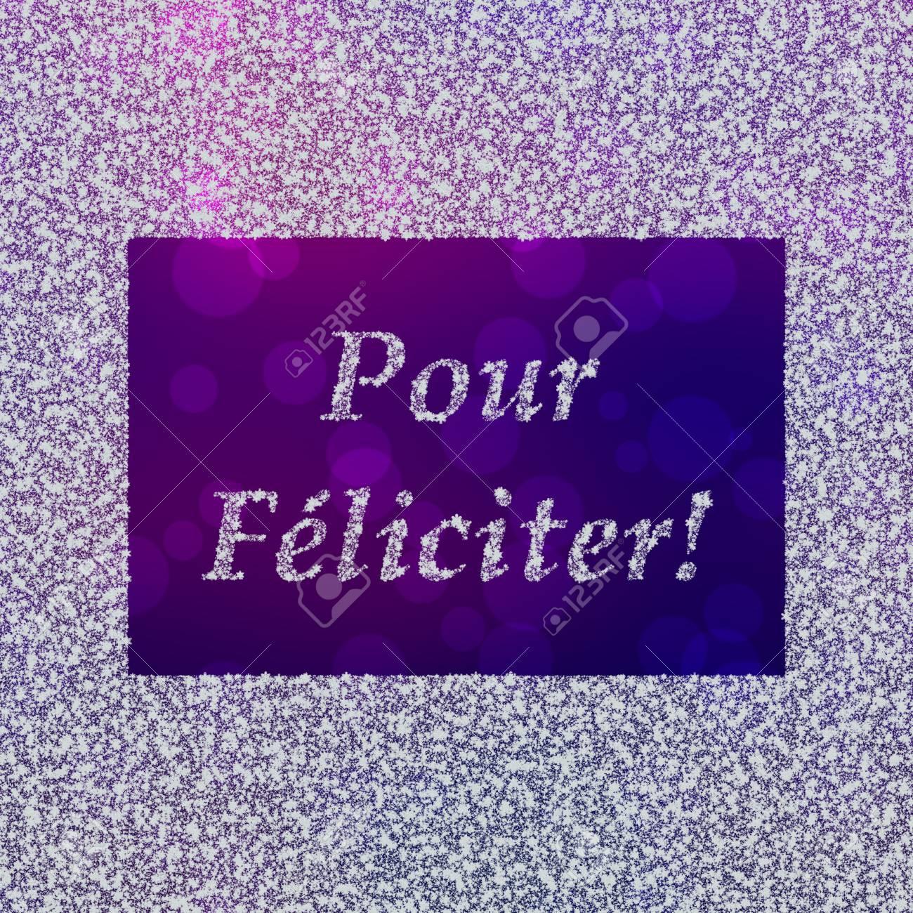 Giet Feliciter Nieuwjaar Groeten In Het Frans Gebruikt In