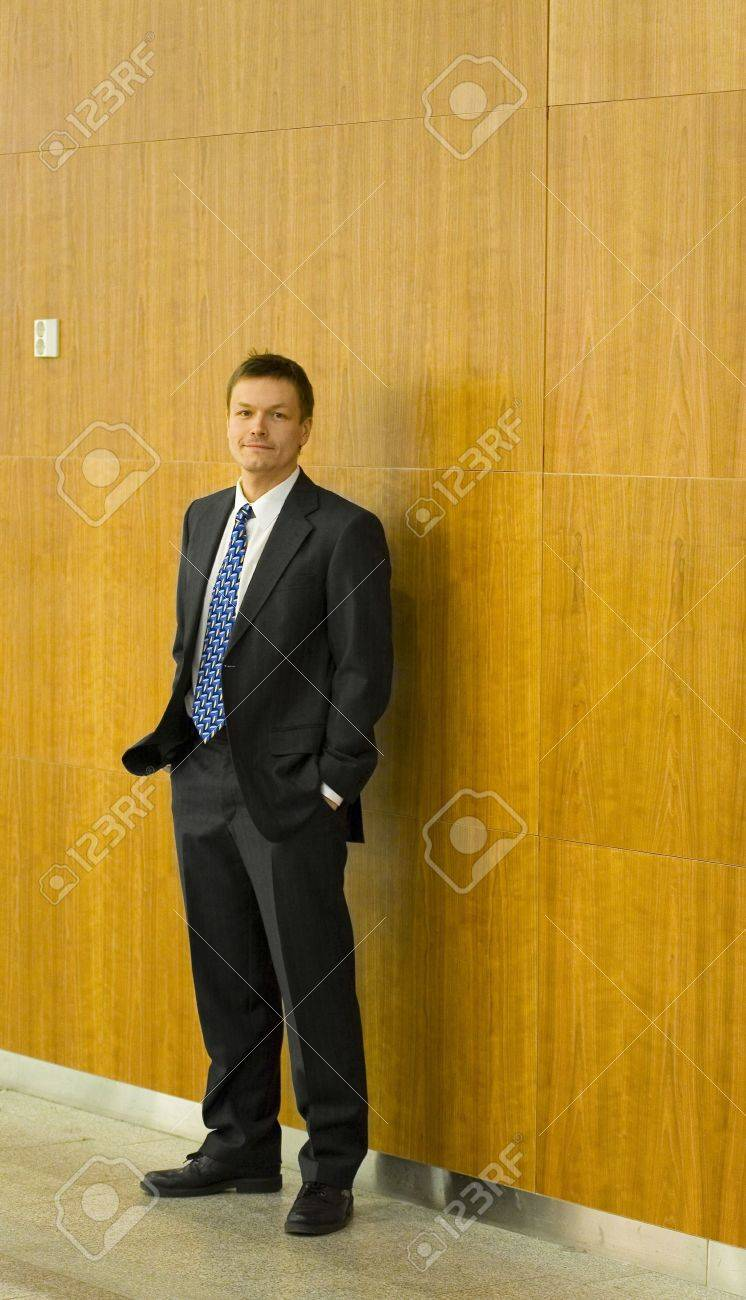 Businessman posing with hands in the pockets Stock Photo - 3193932