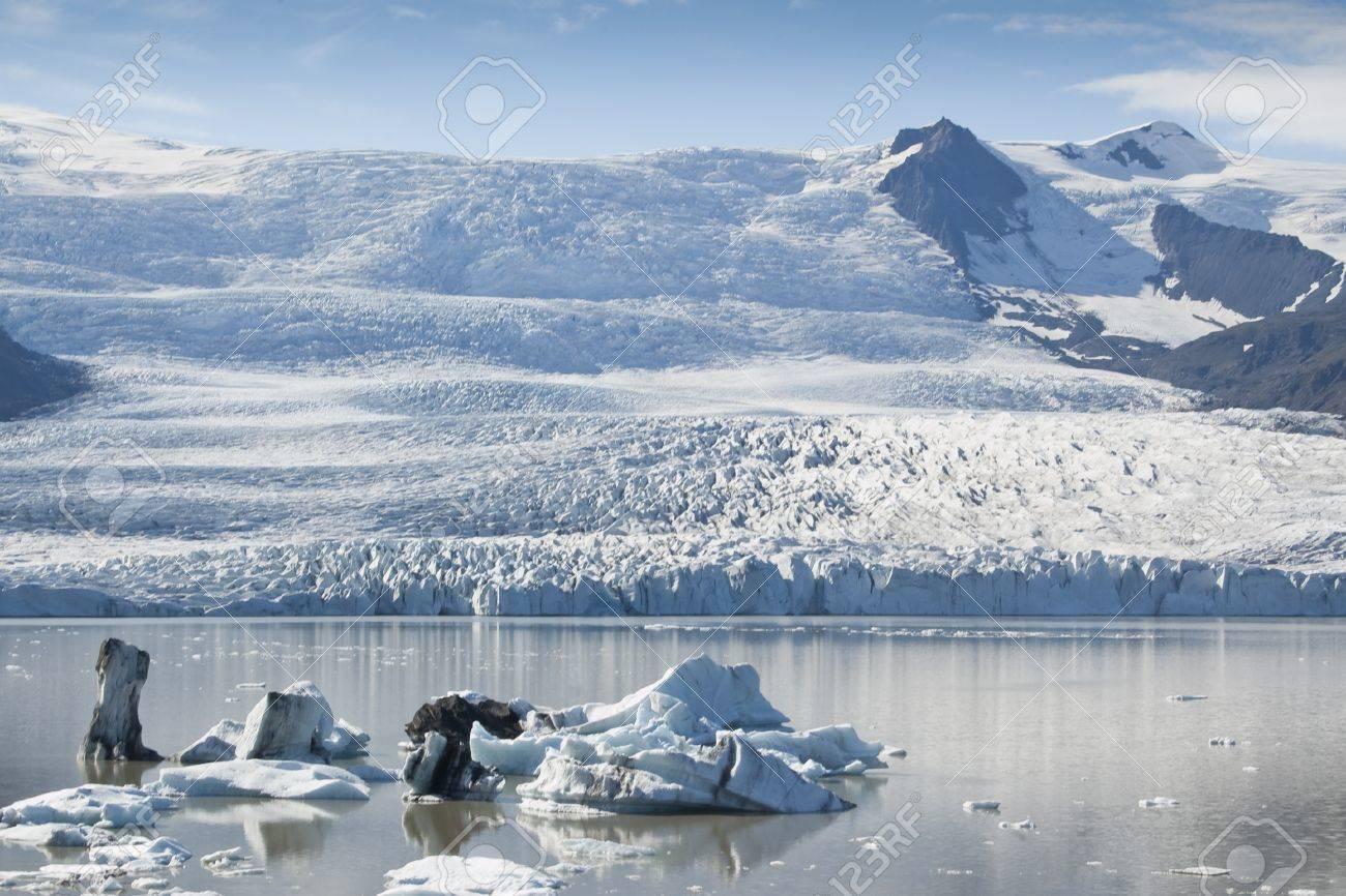 手配湖 (アイスランド) のアイス...